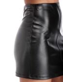 Кожаная мини-юбка XT Collection (107113) - цена, 4