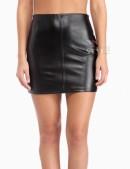 Кожаная мини-юбка XT Collection (107113) - оригинальная одежда, 2