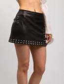 Кожаная юбка с клепками X-Style (107117) - цена, 4