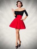 Красная юбка клеш Belsira (107133) - foto
