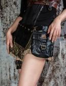 Мини-юбка с навесным карманом (107097) - материал, 6