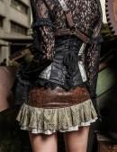 Мини-юбка Steampunk (107098) - 3, 8