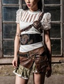 Мини-юбка Steampunk (107098) - материал, 6