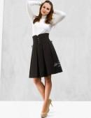 Плиссированная юбка с корсетом (107075) - оригинальная одежда, 2