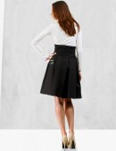 Плиссированная юбка с корсетом (107075) - 3, 8