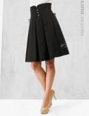 Плиссированная юбка с корсетом (107075) - foto