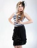 Летняя юбка с поясом (107026) - цена, 4