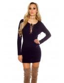 Короткое трикотажное платье KC5449 (105449) - оригинальная одежда, 2