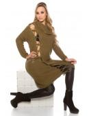 Платье-свитер со шнуровкой KouCla (105365) - 4, 10