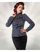Блузка в ретро-стиле