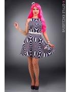 Платье Candy Girl с поясом и шляпкой