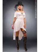 Белое пиратское платье X-Style