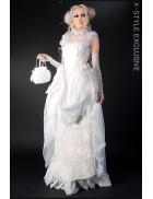 Свадебное платье Викторианской эпохи