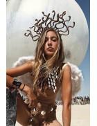 Обруч Medusa Snake Cosplay Couture