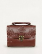 Винтажная сумочка с тиснением