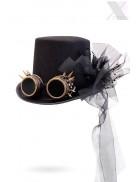 Женская шляпа Стимпанк с гогглами XA1462