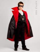 Карнавальный плащ вампира для мальчика X205