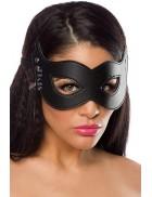 Кожаная маска с клепками