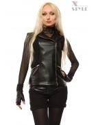 Байкерская куртка-безрукавка X-Style