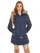 Зимняя куртка женская MF2134-Navy