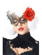 Ажурная маска с цветком CC1070