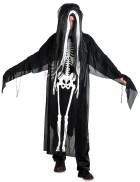 Балахон со скелетом