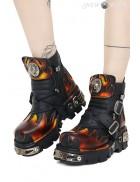 Кожаные ботинки WORLD ON FIRE