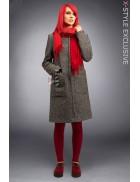 Демисезонное женское пальто X4034