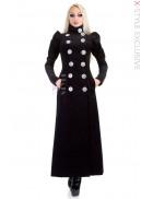 Длинное шерстяное пальто (весна-осень) X4054