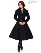 Винтажное длинное пальто из шерсти Belsira
