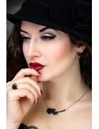 Кулон Black Thorn Rose