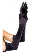 Длинные атласные перчатки Amynetti