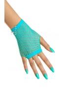 Перчатки-сетка голубые СС1155