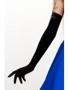 Длинные перчатки из бифлекса (58 см)