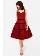 Платье-сарафан в стиле Ретро XC5459