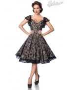 Ажурное винтажное платье с бретелями B5483