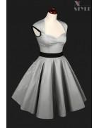 Платье стиляги с подъюбником X5163