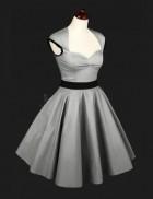 Ретро-платье с подъюбником
