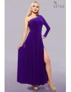 Платье с глубоким разрезом Xstyle