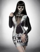 Платье с черепом Lost Paradise