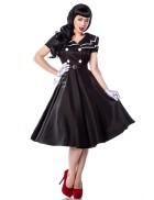 Ретро-платье с коротким рукавом AN5297