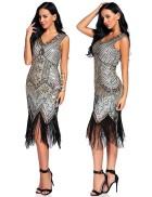 Ретро платье в стиле Гэтсби XC5300