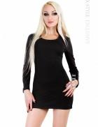 Короткое трикотажное платье Xstyle