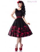 Платье Pin-up с цветочным узором