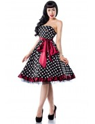 Ретро-платье с открытой спиной