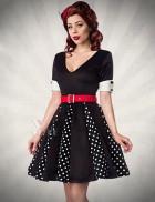 Ретро-платье с коротким рукавом