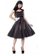 Ретро-платье в горошек Amynetti