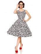 Платье в горошек в стиле Ретро Belsira