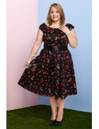 Платье Рокабилли 2XL-4XL