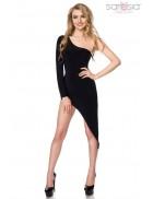 Откровенное асимметричное платье S7151